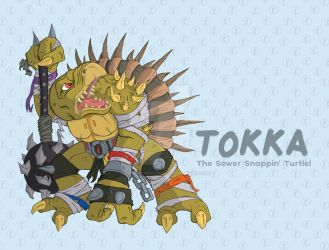 Tokka by happymonkeyshoes