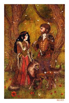 Snow White and the Huntsman by AngelaRizza