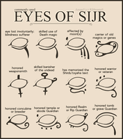Reference- Eyes of Sijr by Ribbontail