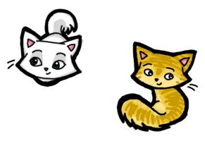 Kittens by secondglance