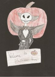Jack Skellington welcomes you by ScrewAndBall