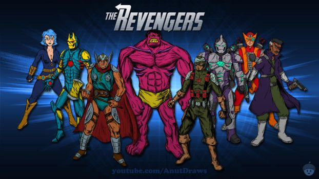 The Revengers by AnutDraws