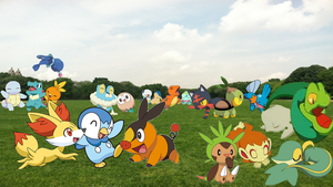 Starters Everywhere! by AdvanceArcy