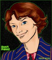 Ford Prefect Portrait by napalmnacey