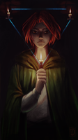 Kingkiller: Kvothe doing Sympathy by Izzu-shi