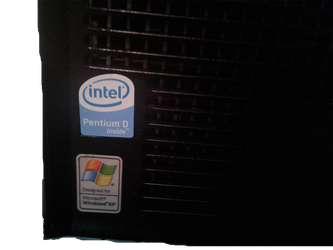 Intel Pentium D Sticker by ComputerPerson745755