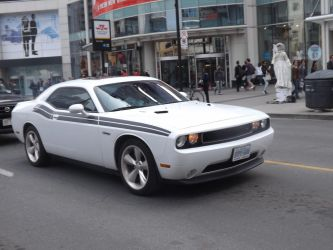 The White Challenger At Yonge And Dundas I by Neville6000