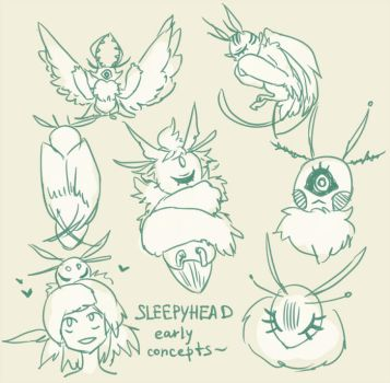 Sleepyheads [new possible species?] by nextlvl-adopts