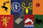Badges Game of Thrones by Mercantille