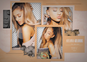 Pack PNG de Ariana Grande. by iLightWonderful