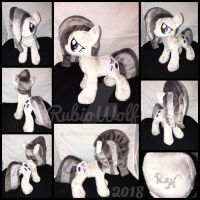 MLP 10 inch Marble Pie Plushie {Etsy Commisson} by RubioWolf