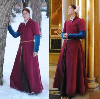 English gown by Celefindel