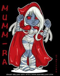 Mumm Ra Girl Type by MaryBellamy