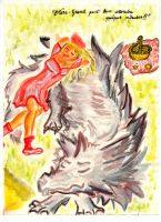 Petit Chaperon Rouge/Little Red Riding Hood by Elsira