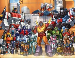 autobots 86 by Dan-the-artguy