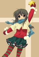Clannad: Merry Christmas by RedRain352