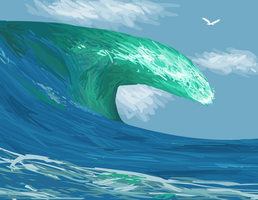 Do The Wave by StapledSlut