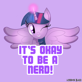 Motivational Twilight Sparkle by LennonBlack