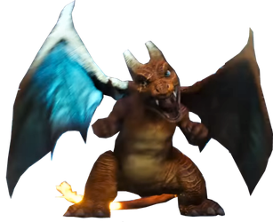 Detective Pikachu Movie - Charizard PNG by DavidBksAndrade