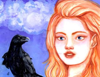 Raven and girl 10.25 version cropped and completel by skybalancer