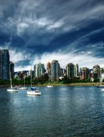 False Creek in Vancouver, BC by DTherien