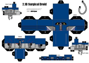 Star Wars - 2-1B Medical Droid by cadsen