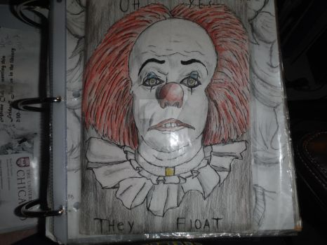 Deadlights (pennywise 1990) by smaugthegreat108