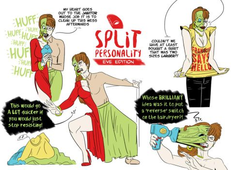 Split Personality: Eve Edition by TheMaskComix