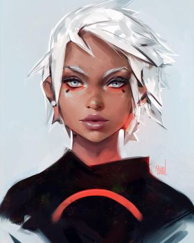 Crimson by rossdraws