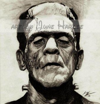 Frankenstein's Monster by JunebugHardee
