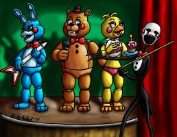 Wilkommen! Bienvenue! Welcome to Freddy's! by Negaduck9