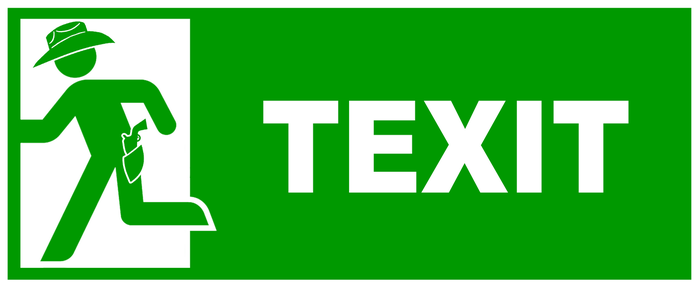 Texit Sign by topher147