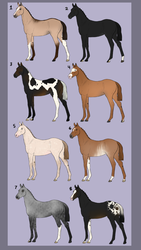 Foal adopts (5/8 OPEN PRICE REDUCED) by Stripe13
