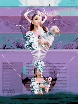 [ GRAPHIC ] Ariana Grande by KhoiTT123