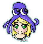 Clara and her Squid Hat by MeaMagica