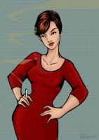 Joan Holloway by Ratgirlstudios