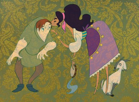 The Hunchback of Notre Dame by spicysteweddemon