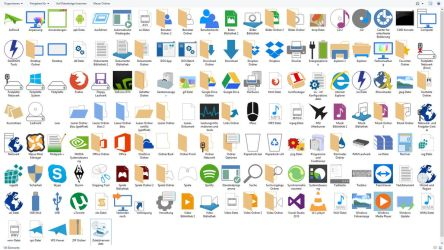 Windows Icons by FaySmash