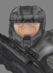 Master Chief by Sp33dy-thedrawer