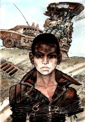 Furiosa and V8 by Gierek76