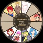 2017 Art Summary by cutelightangel
