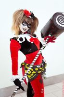 Hammerin' Time Harley Quinn by ColinPortfolio