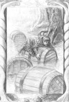 Barrels out of bond by TolmanCotton