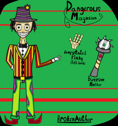 Sonny, or Dangerous Magician Reference by BrokenAuthor