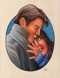 Castle and Beckett by xfkirsten