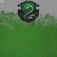 Slytherin House Pride - Blank by TheLadyAvatar