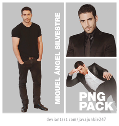 Miguel Angel Silvestre PNG Pack 02 by JJ-247