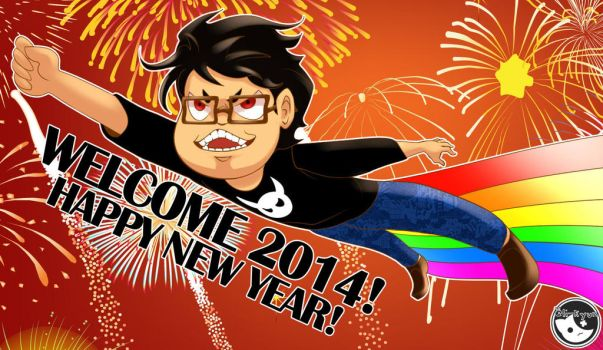 Happy New Year 2014 from Eli by Eli-kyun