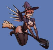 Witch Mercy (Special) by TheMaestroNoob