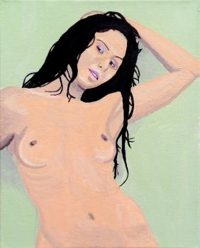 Nude Study by lifeinacemetery